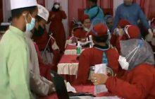 BINDA Kalsel Vaksin 3.000 Santri dan Siswa MadrasahTala