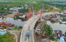 Jokowi Minta Jembatan Alalak Dibuka