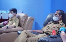 Peringati Usia ke-76 PMI, Pejabat Tala Donor Darah