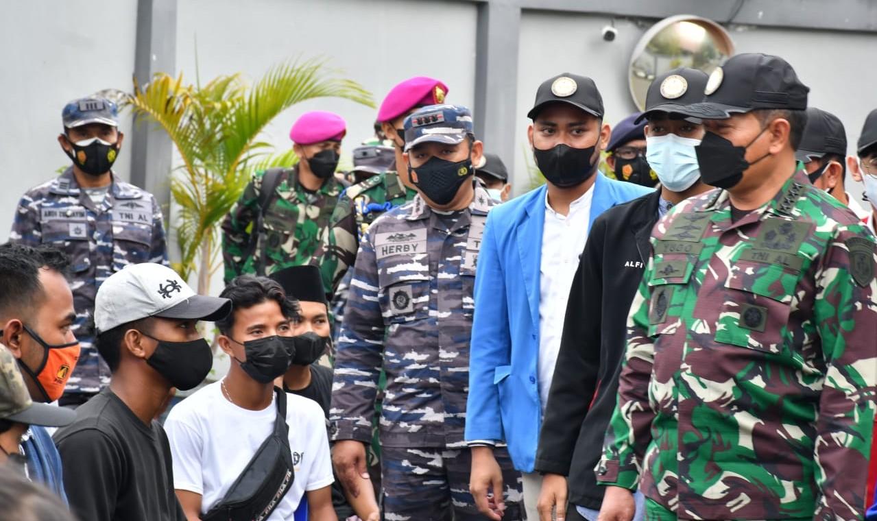 KSAL Tinjau Servak di Banjarmasin