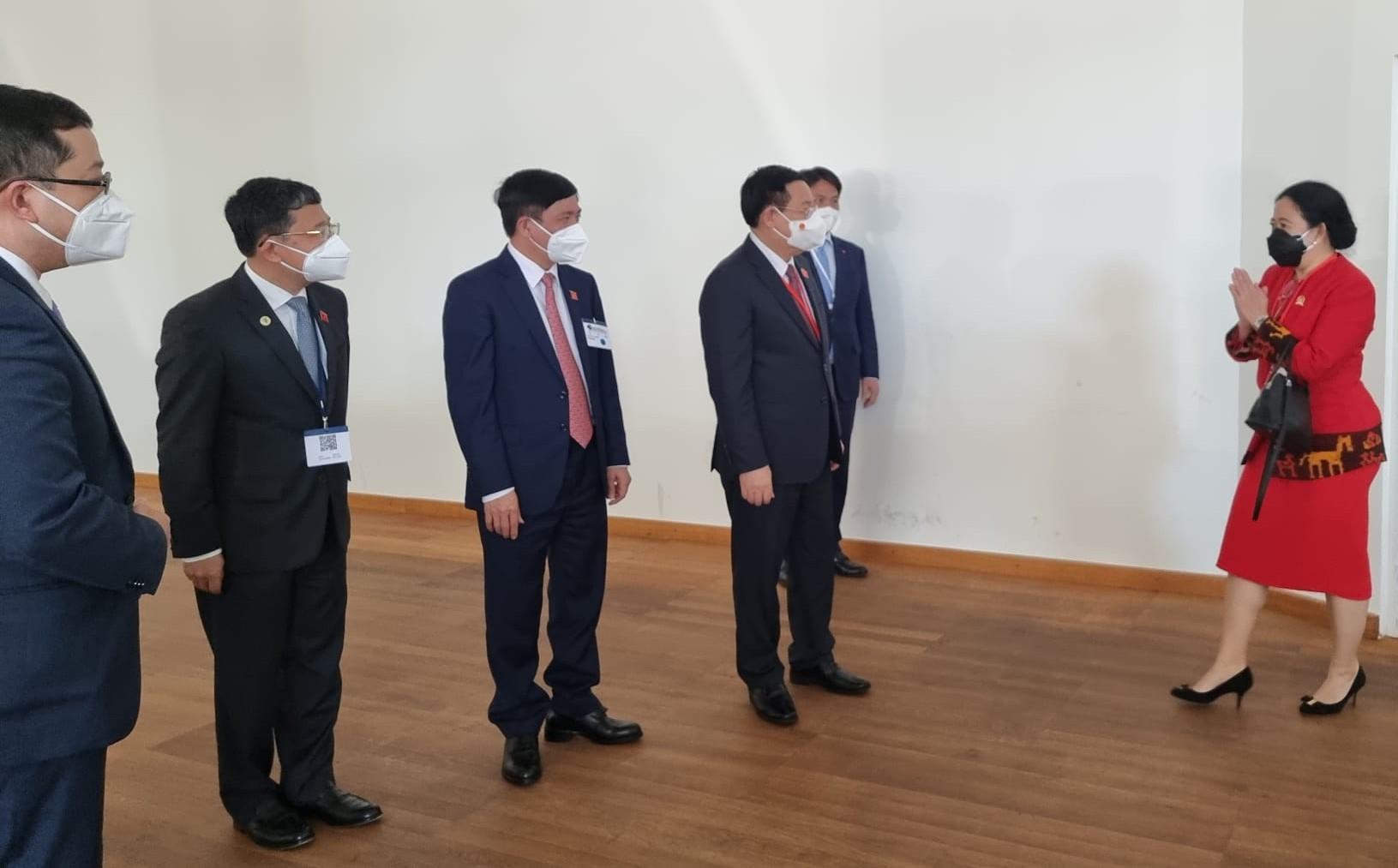 Puan, Ketua Parlemen Austria dan VietnamLakukan Pertemuan Bilateral