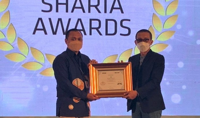 UUS Bank Kalsel Raih Sharia Award 2021