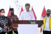 Pemakaian Jembatan 'Basit' Diresmikan Presiden Jokowi