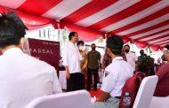 Jokowi Minta Percepatan Vaksinasi di Kalsel