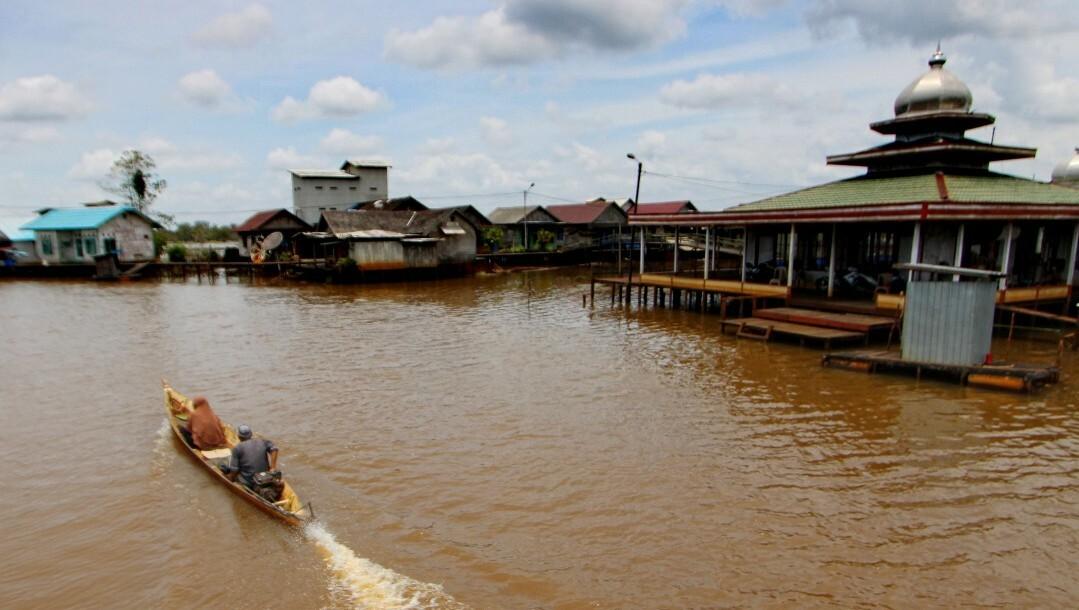Menengok Potensi Wisata Sardangan, Desa Kecil di Tepian Sungai Kusan