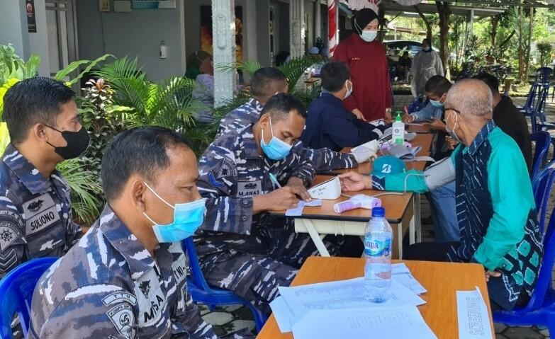 Servak Maritim TNI AL di Kalsel Sudah Vaksin 15.391 Orang