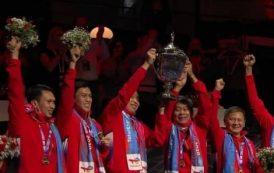 Setelah 19 Tahun, Piala Thomas Kembali ke Indonesia