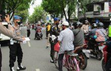 Propam Polda-Denpom TNI AD, AL dan AU Operasi Gabungan Disiplinkan Prokes